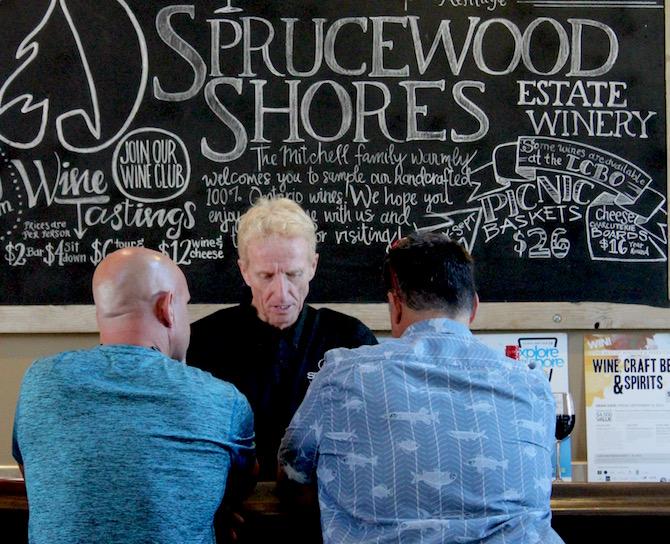 Le vignoble Sprucewood Shores Estate