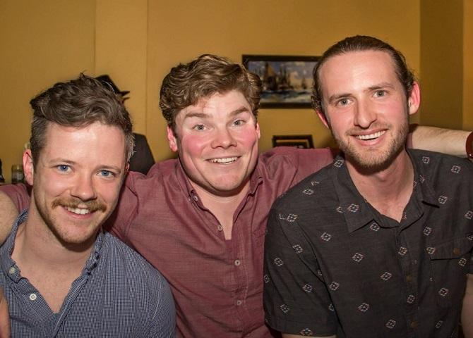 Angus Campbell, Doug Kehoe et Josh Counsil, guide touristique, sport d'hiver, Nouvelle-Écosse