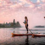 Les meilleurs endroits au Canada pour faire de la planche à pagaie