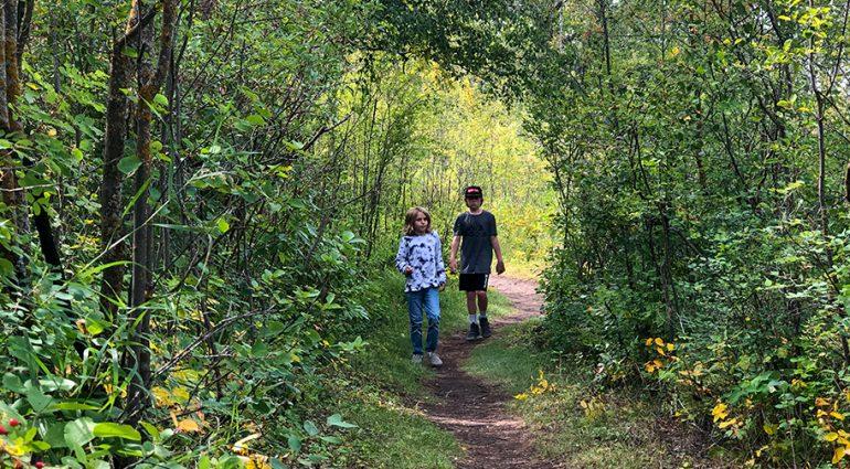 Plaisirs d'automne en famille à Saskatoon