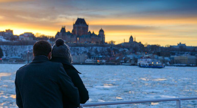 Escapade romantique à Québec